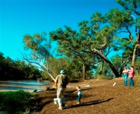 Charleville - Dillalah Warrego River Fishing Spot - WA Accommodation