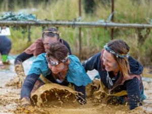 Suck It Up Buttercup Vikings Obstacle Course - WA Accommodation